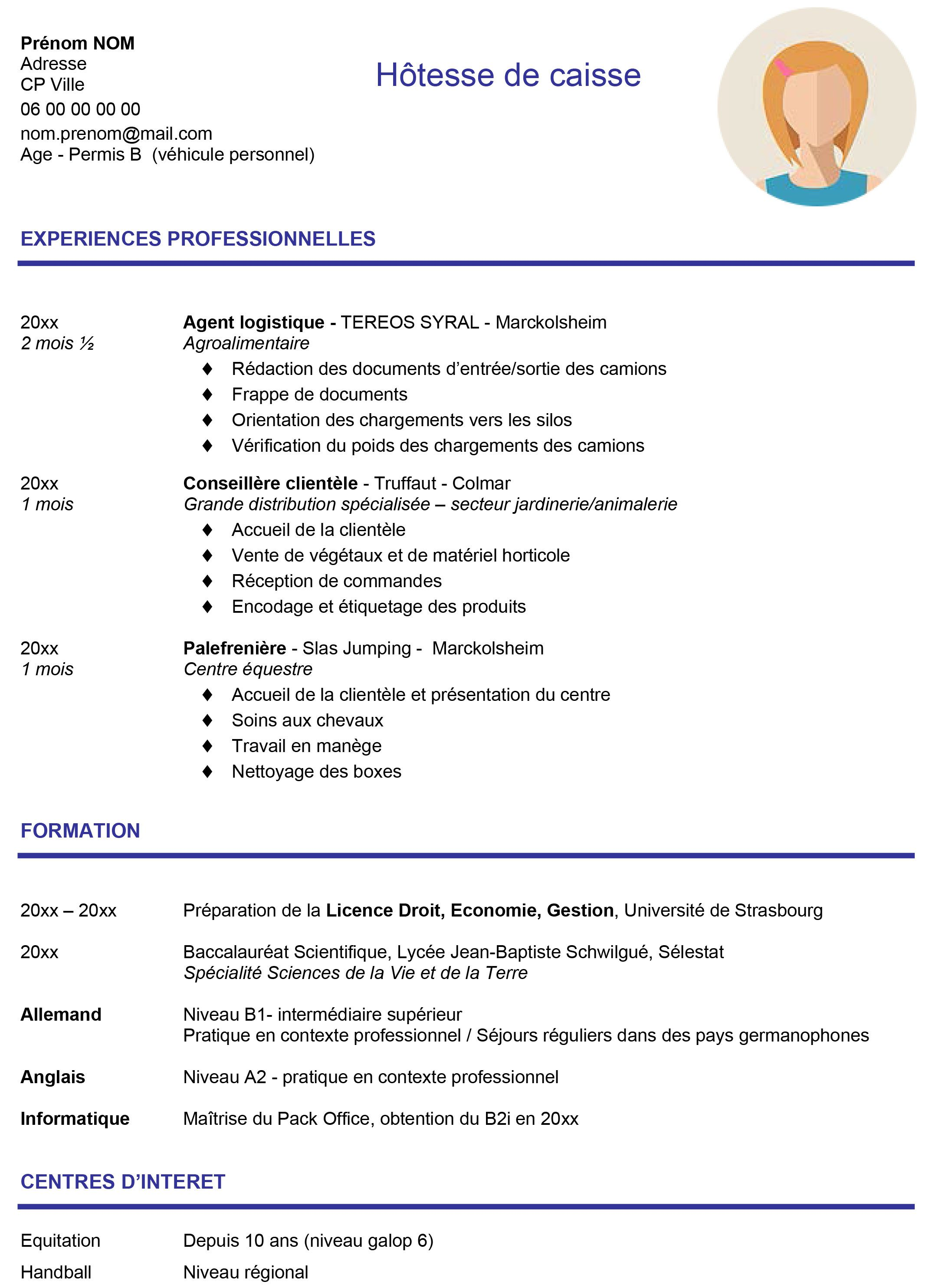 Modeles De Lettre Motivation Exemples De Cv Et Discours Alles Pin Cv Words Cv For Students Microsoft Word Document