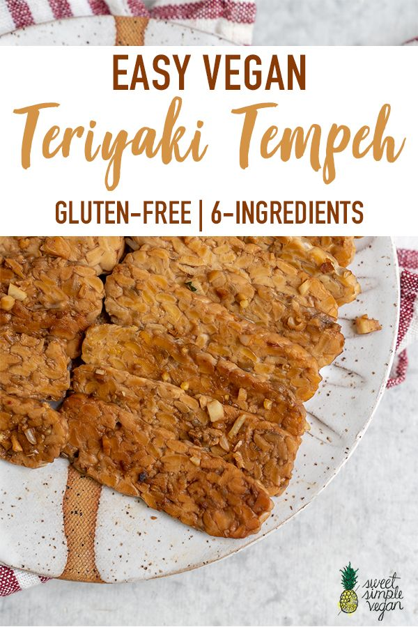 Easy Teriyaki Tempeh Gluten Free