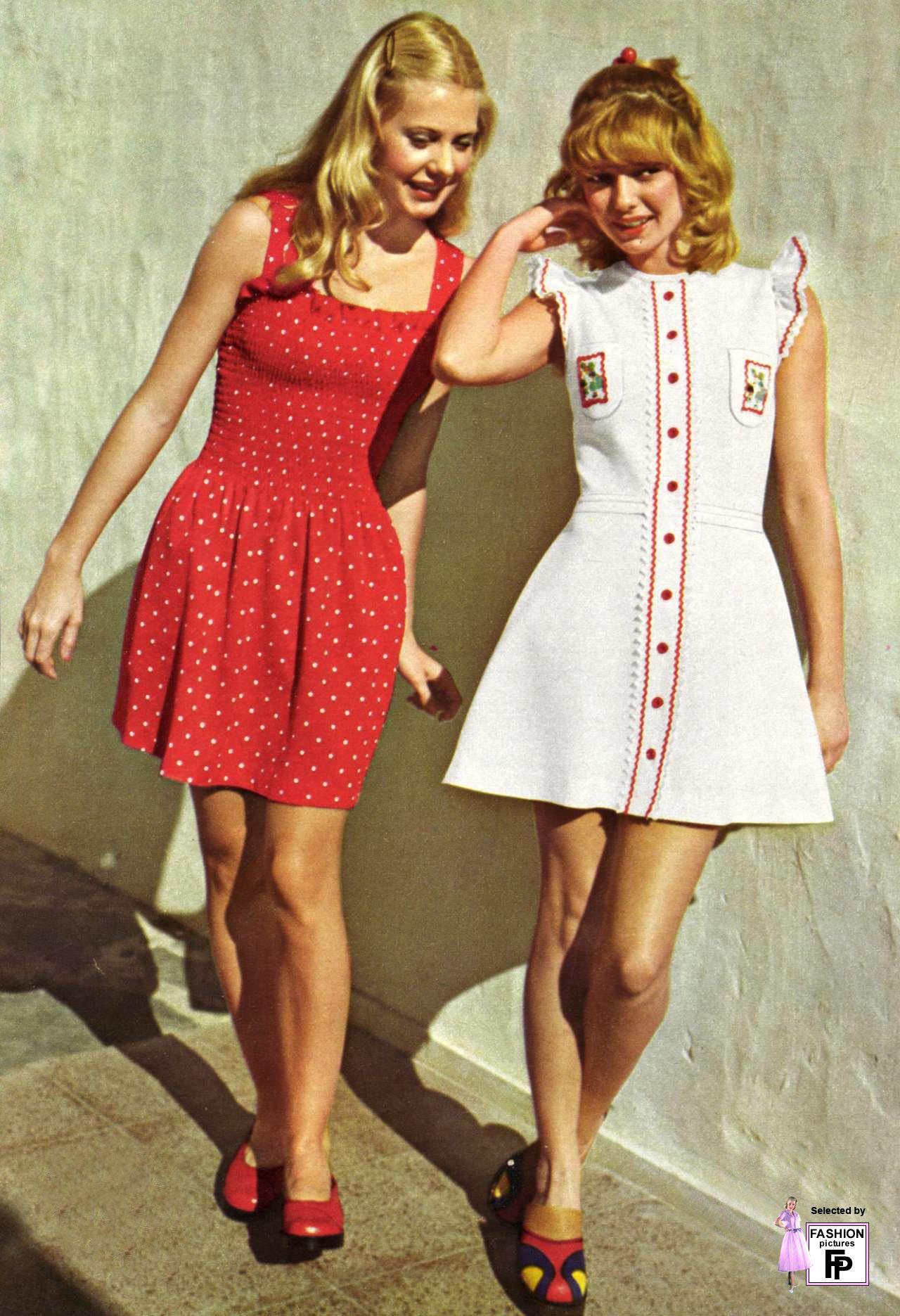 Vestidos de fiestadecada del 70