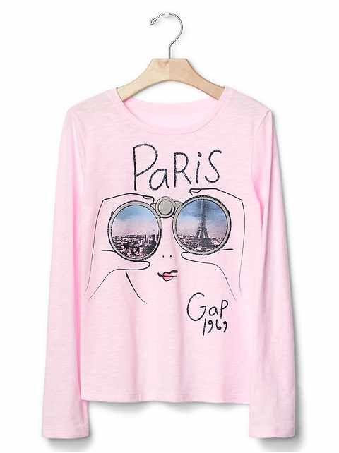 41d41c64 Girls' Ts & Polos: cotton t-shirts, turtleneck tees, long-sleeve ts, uniform  polo shirts at GapKids | Gap