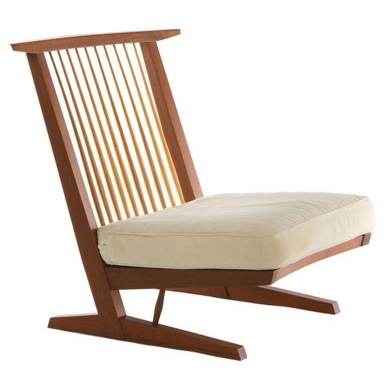 George Nakashima Conoid Lounge Chair