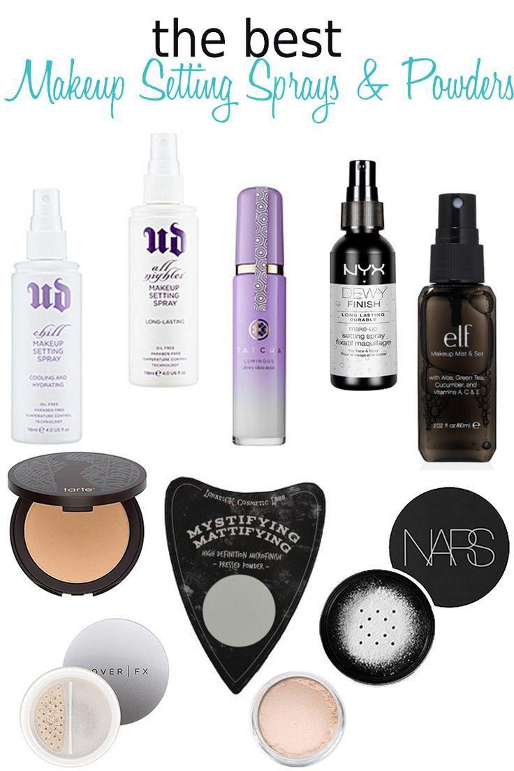 10 Best Makeup Setting Sprays And Powders Makeup Tips Tricks Best Makeup Setting Spray Makeup Setting Spray Best Makeup Products