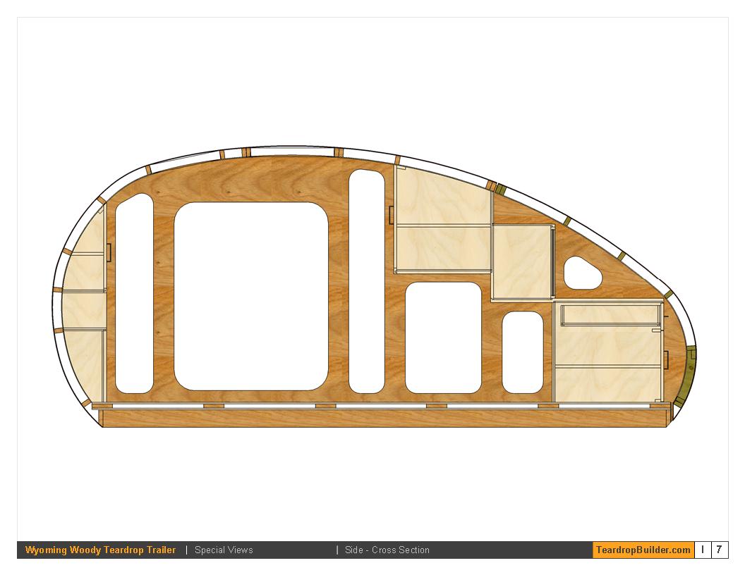 Wyoming woody teardrop trailer plans 57 teardrop builder for Free trailer plans
