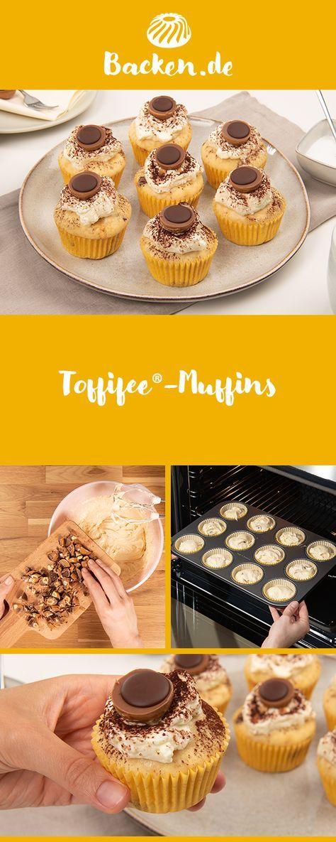 Toffifee-Muffins - Rezept von Backen.de
