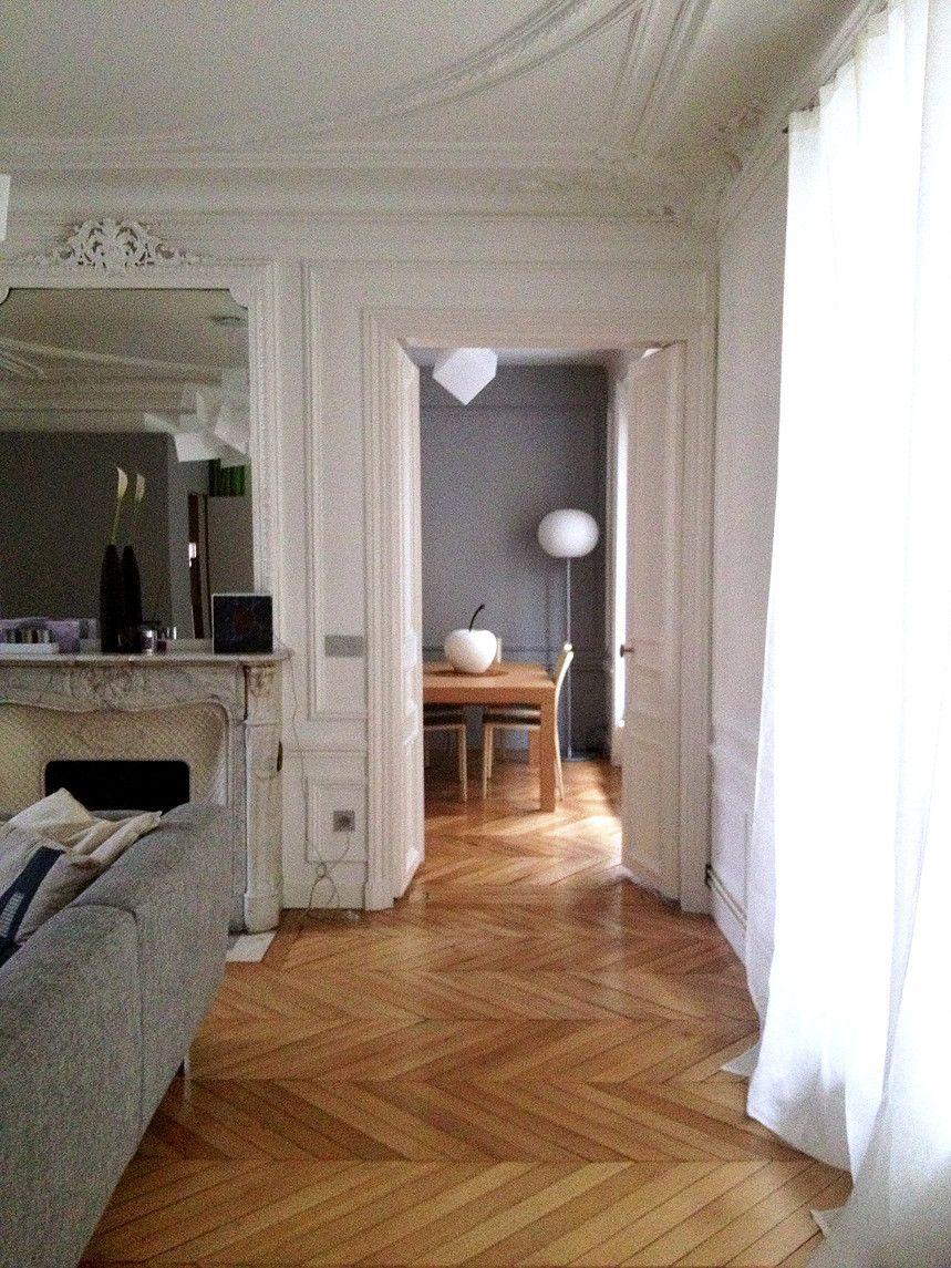 rénovation appartement haussmann sejour salle à manger paris iena ... - Renovation Sejour Salle A Manger