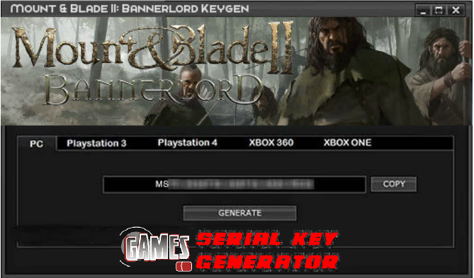 mount and blade viking conquest serial key generator
