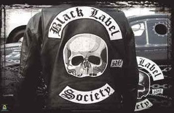 Pin By Theo Vervoort On Biker Black Label Society Black Label Labels