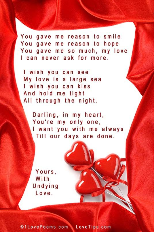 Pictures Of Love Poems 1