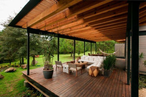 Terrasse en bois ou composite - idées merveilleuses pour l\'extérieur ...