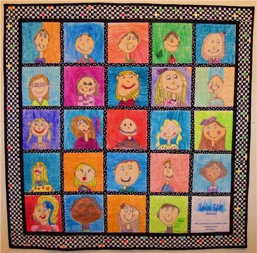 Quilt Guild Demo Ideas : TEACHER QUILT IDEAS Our guild sure does wonderful things in the community!! teacher ...