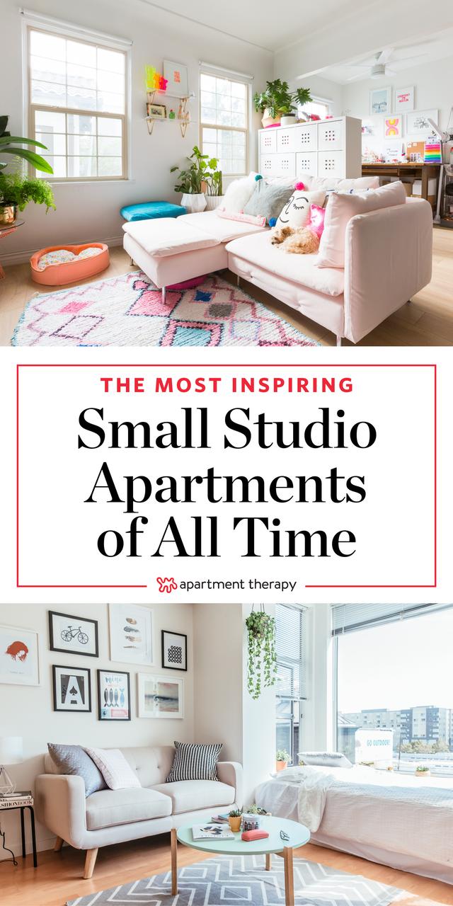 19 Of The Most Stylish Inspiring Studio Apartments Apartment Therapy Small Spaces Studio Apartment Living Small Apartment Therapy