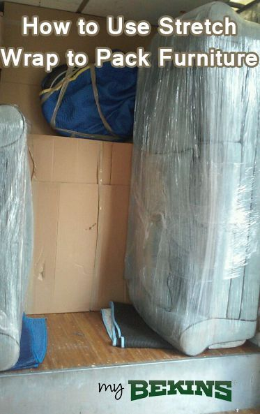 How To Use Stretch Wrap To Pack Furniture Stretch Wrap Moving