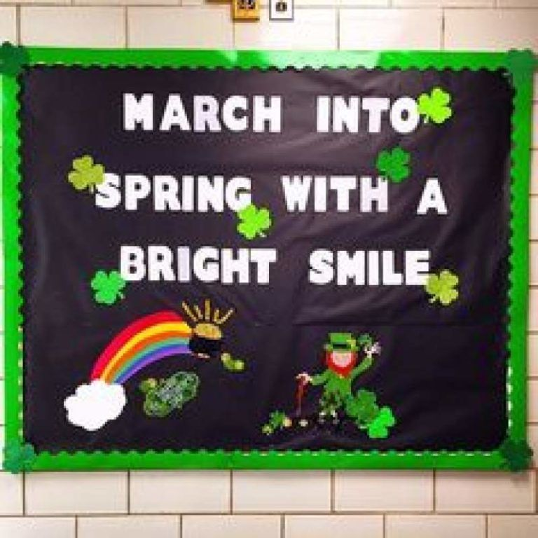15 March Bulletin Board Ideas For Spring Classroom Decoration Hike N Dip Office Boards