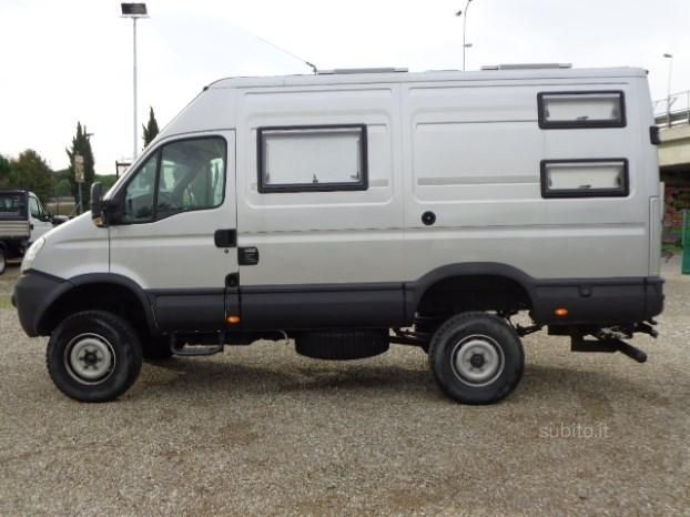 Image result for 4x4 sprinter big wheels campers for Motorhome vas usati