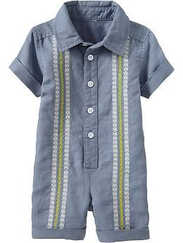 9b73e9666d Love this Guayabera One-Pieces for Baby  19.94 at Old Navy