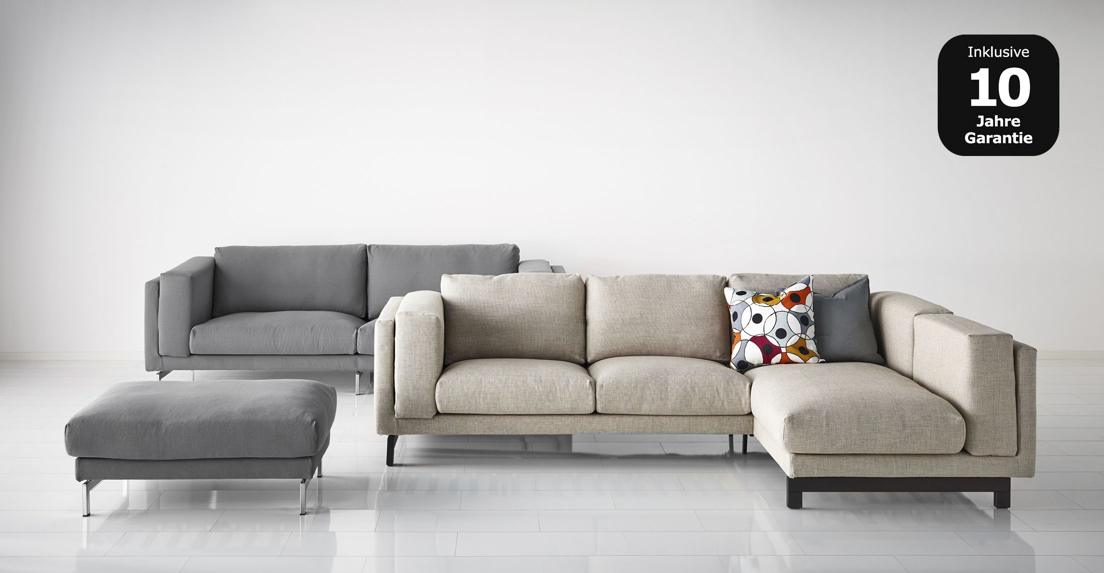 Ikea Nockeby Bank : Ikea nockeby sofa house ideas salones hogar series