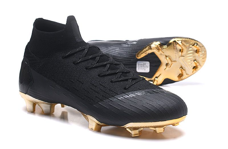 reputable site 37890 7266a Nike Mercurial Superfly VI Elite FG Botas de Futbol - Negro Oro