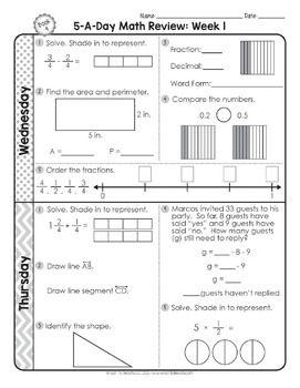 46+ 4th grade morning work Useful
