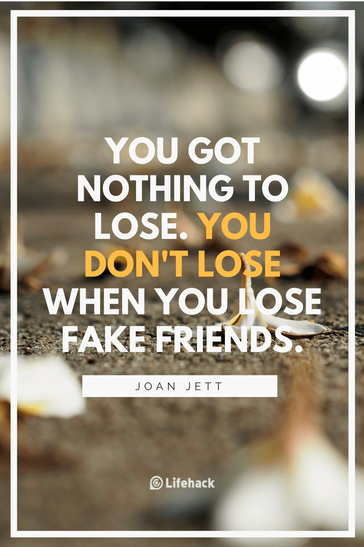 Quotes About Fake Friendship 25 Fake Friends Quotes To Help You Treasure The True Ones  Fake