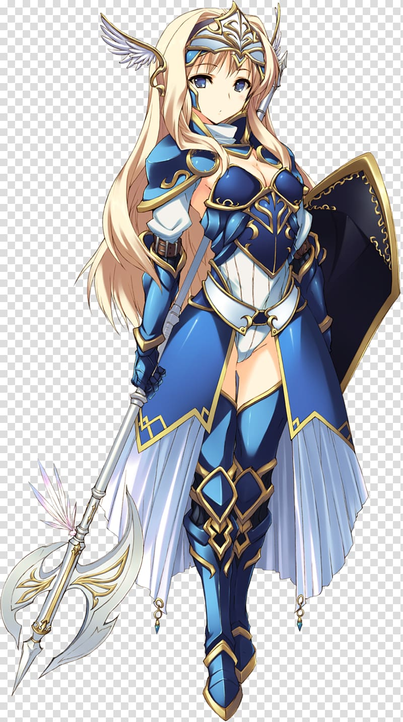 Anime Youtube Female Art Knight Transparent Background Png Clipart Anime Knight Anime Warrior Warrior Girl