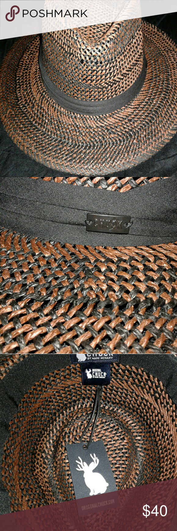 37a8811311f60 ORIGINAL CHUCK BY MARK MCNAIRY HAT New ORIGINAL CHUCK BY MARKMCNAIRY Hat MARK  MCNAIRY Accessories Hats