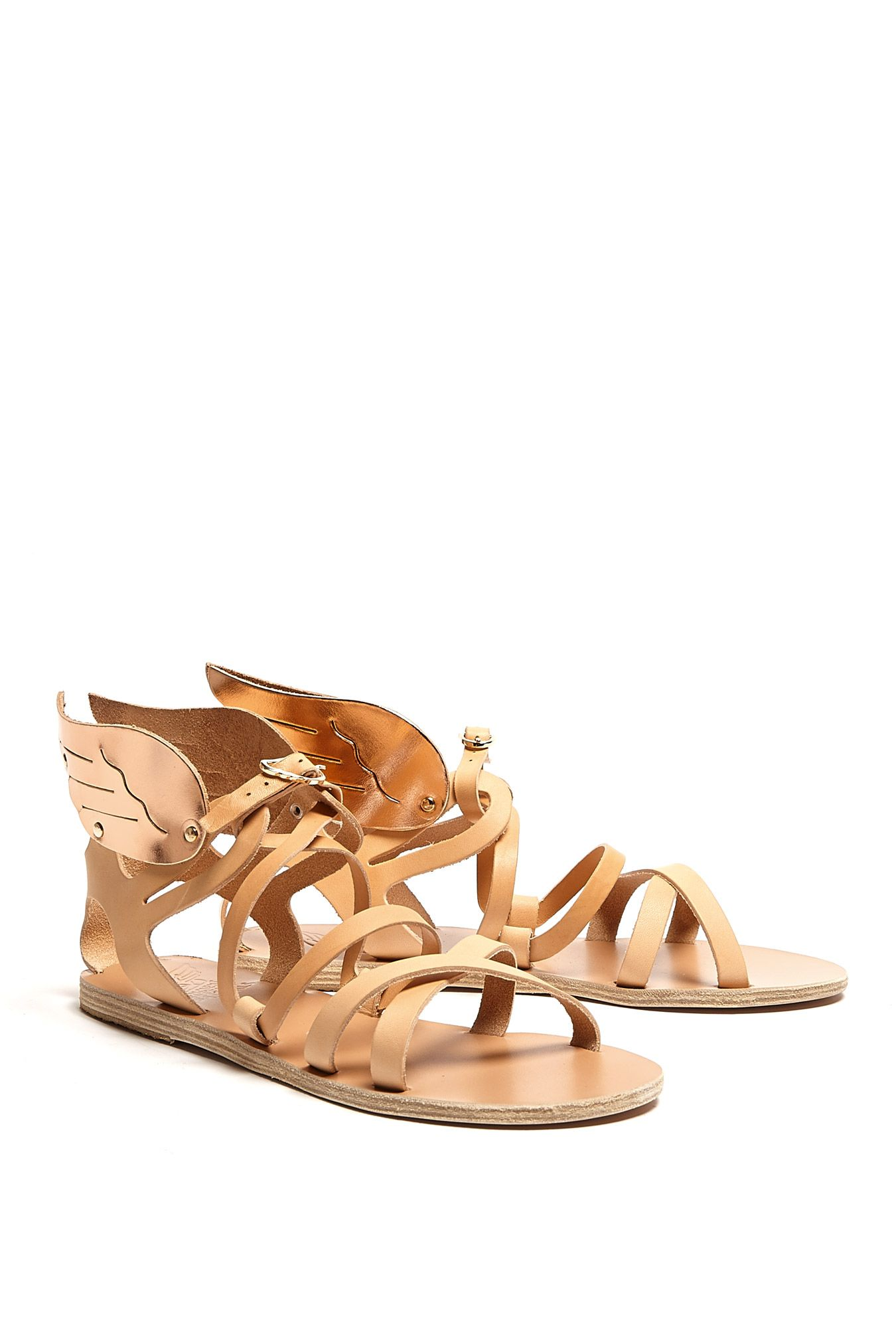 Exclusive Nephele Wings Flat Sandal by Ancient Greek Sandals