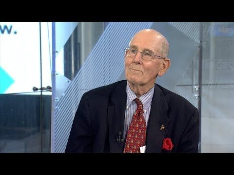 GARY SHILLING: Stocks are expensive, and a 'shock' could send them plunging - (More Info on: http://LIFEWAYSVILLAGE.COM/videos/gary-shilling-stocks-are-expensive-and-a-shock-could-send-them-plunging/)