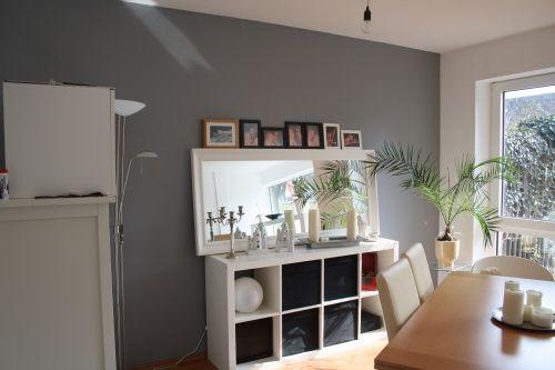 Wand grau Wohnzimmer | House ❤ | Pinterest | Wände, Wandfarbe und ...