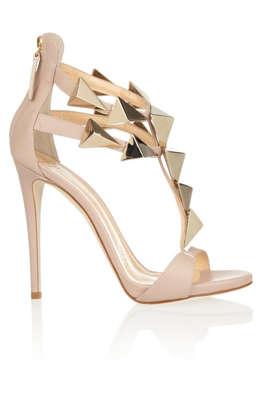 Giuseppe Zanotti Studded Leather Sandals sale 100% guaranteed tuD6iMC