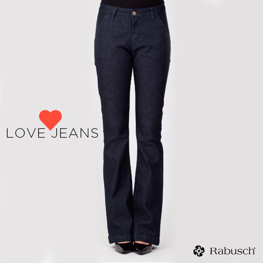 Calça jeans flare rabusch rabusch modaparamulheresdesucesso