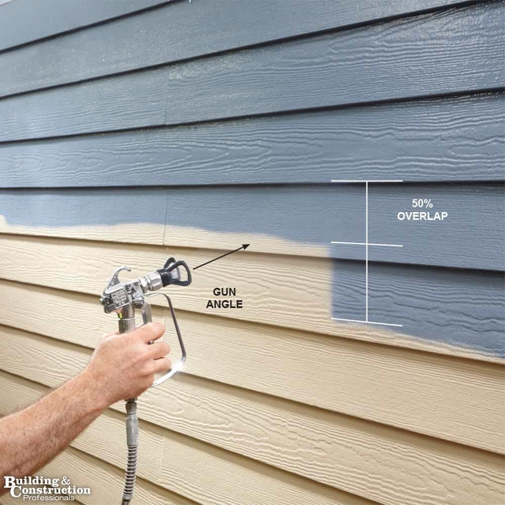 Airless Paint Sprayer Tips For Exterior Paint Jobs Building And