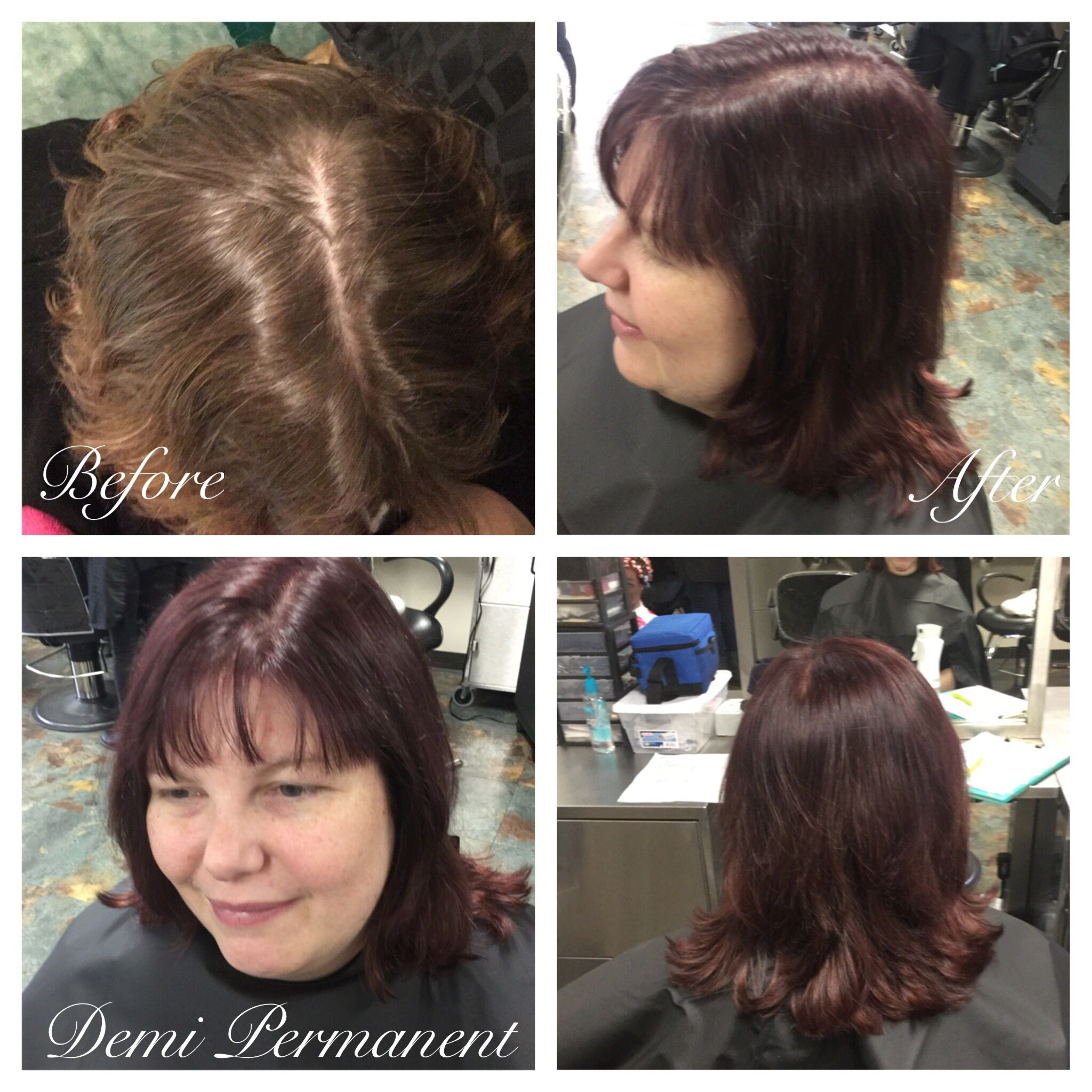 Pin Auf Hair Coloring