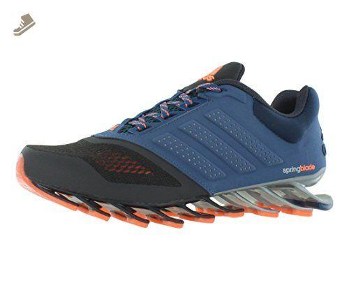 adidas Running Women's Springblade Split W DHG Solid Grey/Vista Blue Melange /Flash Orange