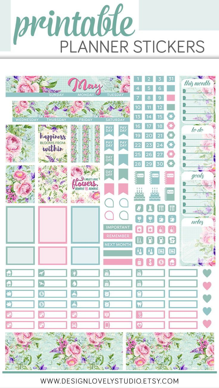 This is a photo of Sly Happy Planner Monthly Layout Printable