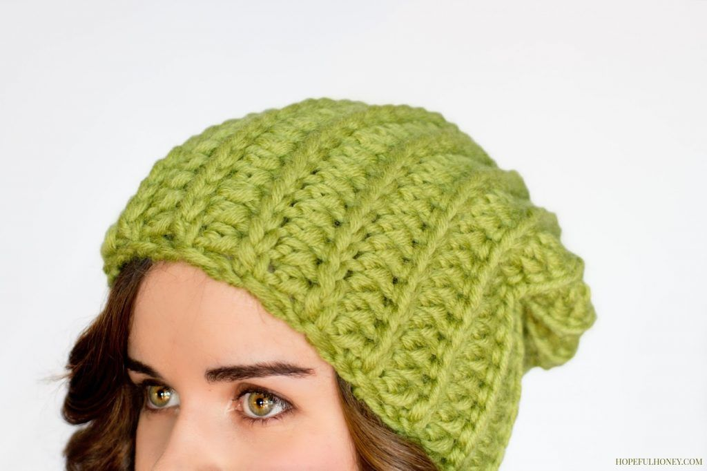Basic Chunky Beanie Crochet Pattern Vila Srbija