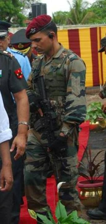 Indian Para Commando.