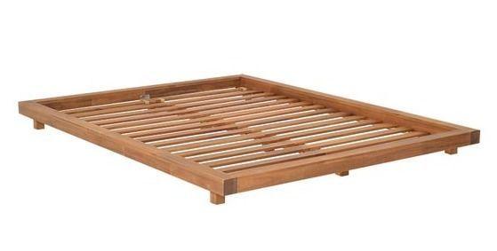 kingsize platform bed frame and tatami mats | home & garden