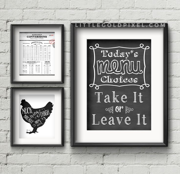 High Quality 20 Kitchen Free Printables U2022 Wall Art Roundup Home Design Ideas