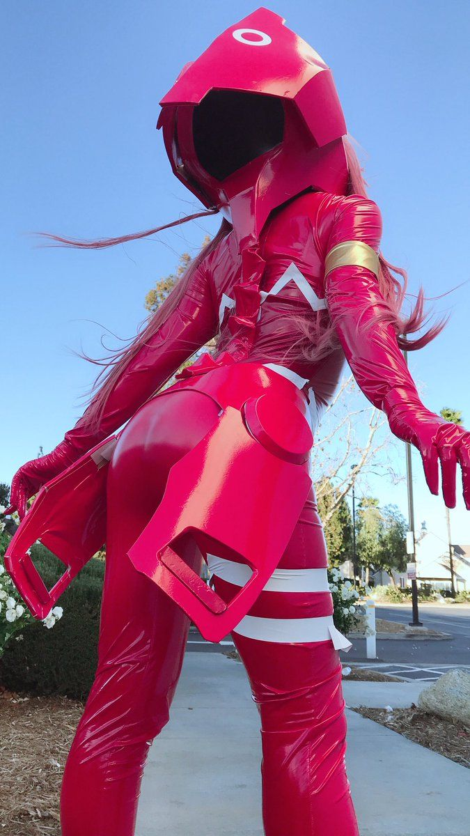 Image result for zero two cosplay bodysuit   Cosplay ...