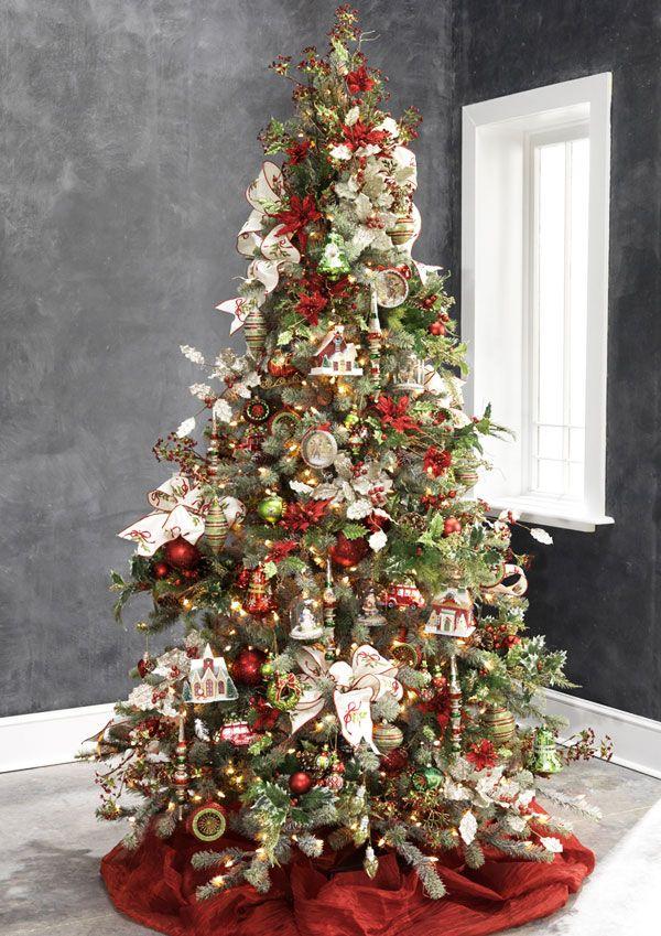 2013 Merry Mistletoe Tree Creative Christmas Trees Amazing Christmas Trees Christmas Tree Themes