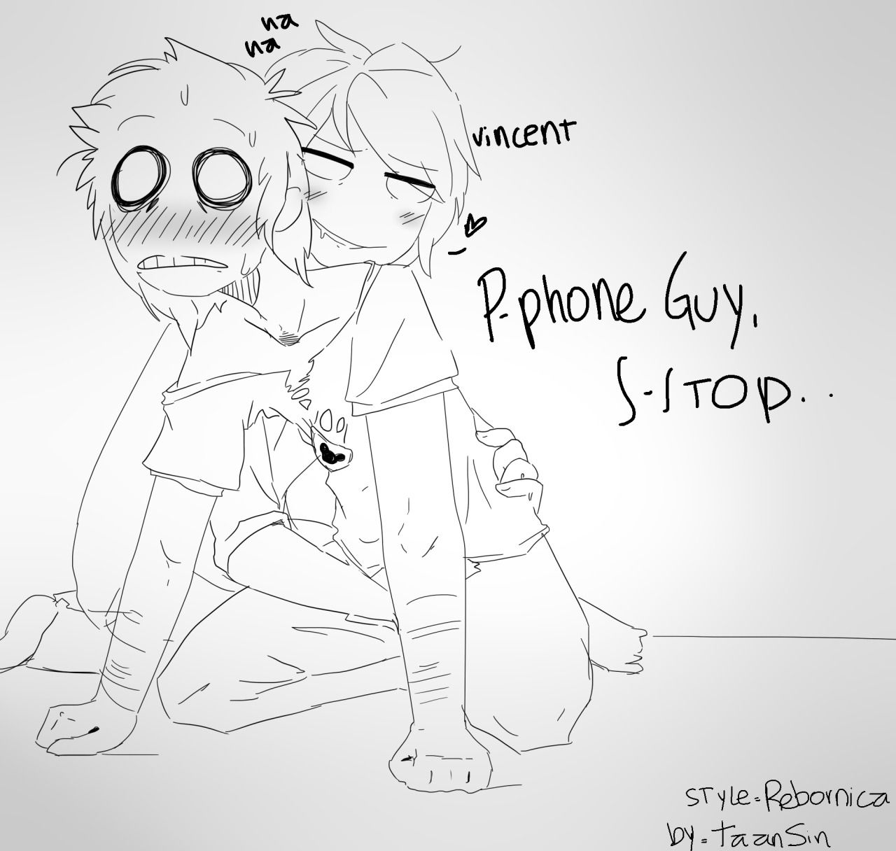 Phone guy x purple guy fanfic lemon - Purple Guy X Phone Guy Recherche Google