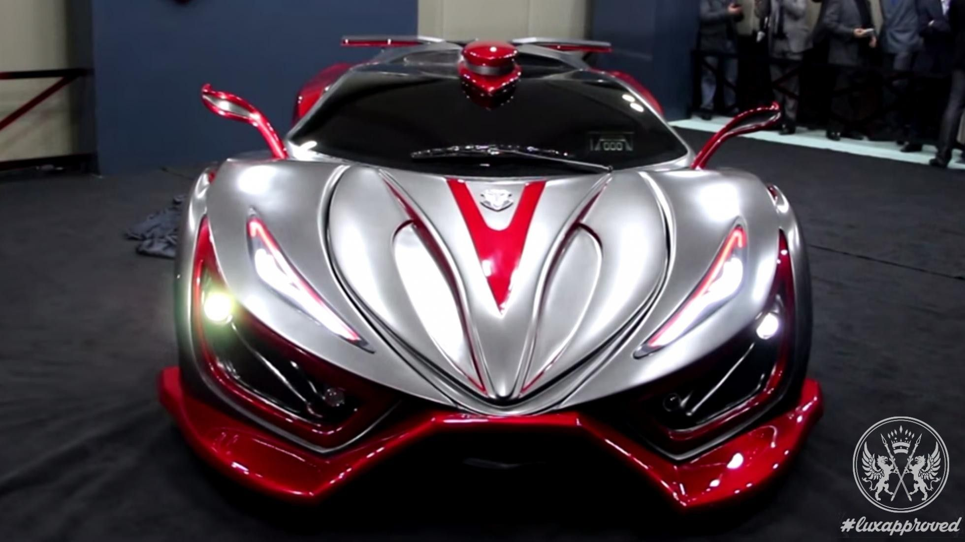 'Inferno' supercar Mexico's 1400 hp monster is something that el diablo would drive
