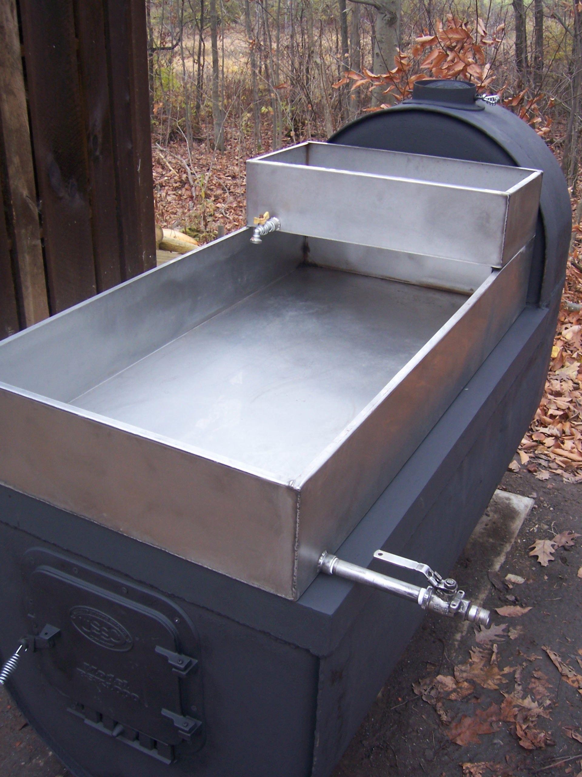 Backyard Maple Syrup Evaporator - HOME DECOR