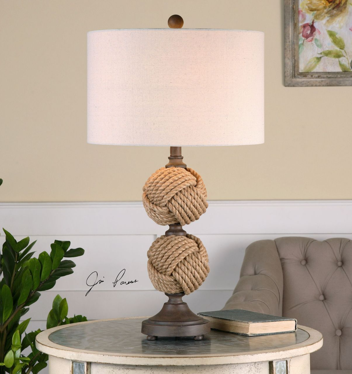 Master higgins rope spheres table lamp beach house decorating master higgins rope spheres table lamp aloadofball Gallery