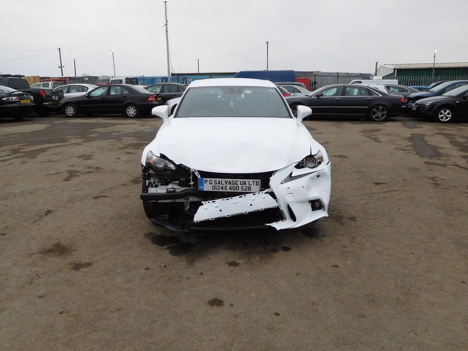 Ebay 2013 63 Lexus Is 300h Sport Hybrid 2 5 Petrol Auto Damaged