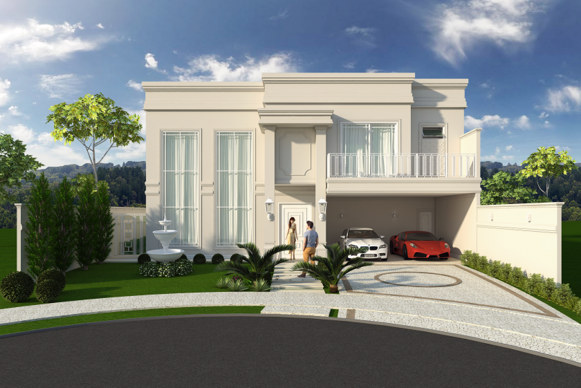 Projetos de casas luxuosas campinas casas luxuosas for Foto casa classica