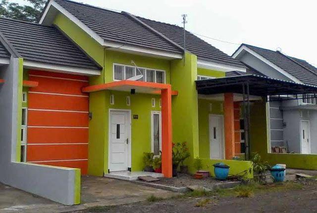 42 Kombinasi Cat Rumah Minimalis Warna Orange Yang Nampak ...