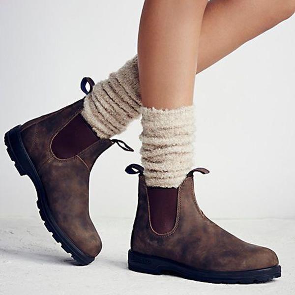 eb1d3adb44c0 Chellysun Women Classical Vintage Boot Blundstone Boots Women