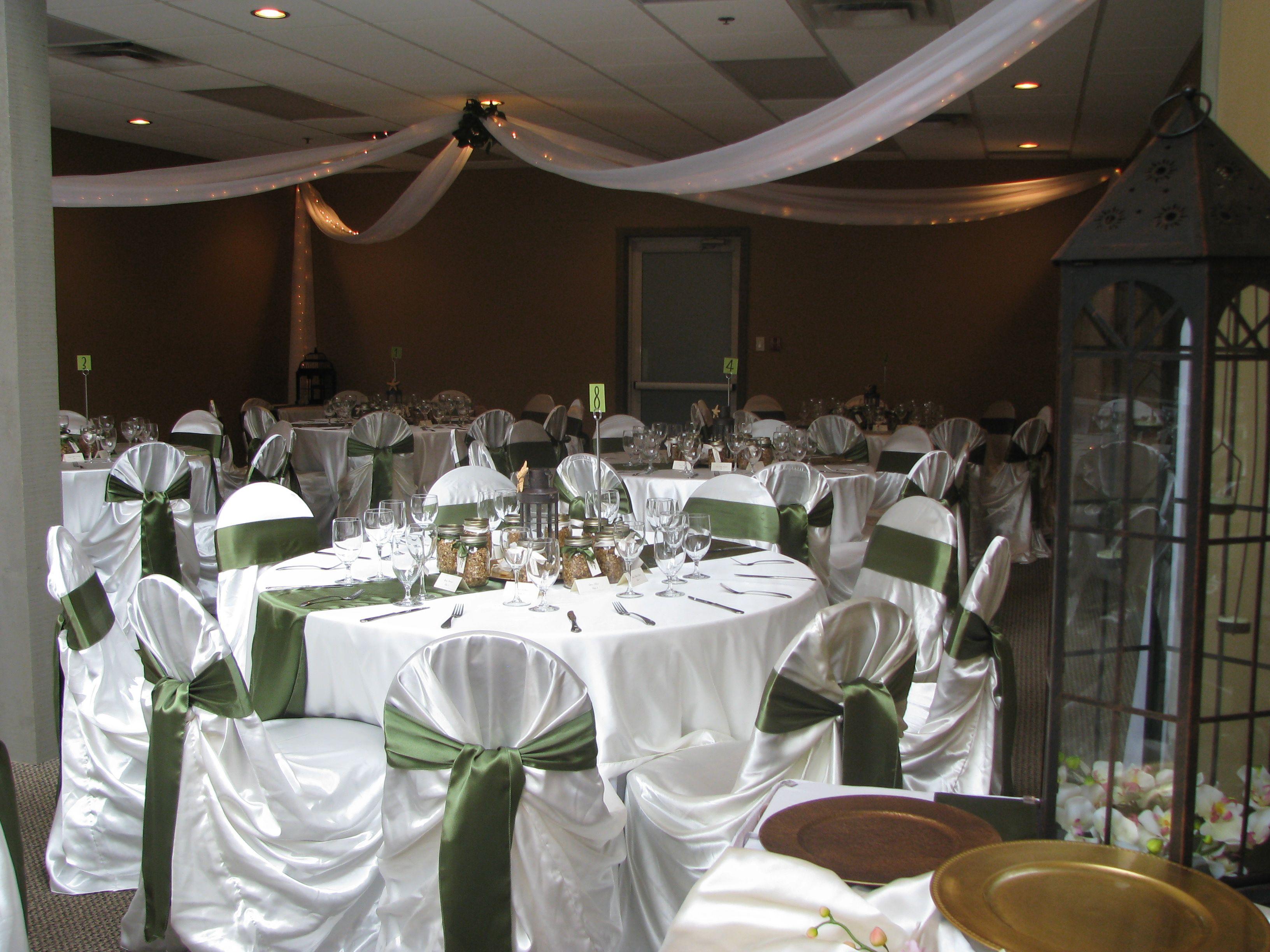 Reception At Pacific Shores Nanoose Bay Vancouver Island Nanaimo Venues Wedding Decor Wedding Rentals Chair Co Ceiling Draping Decor Wedding Rentals