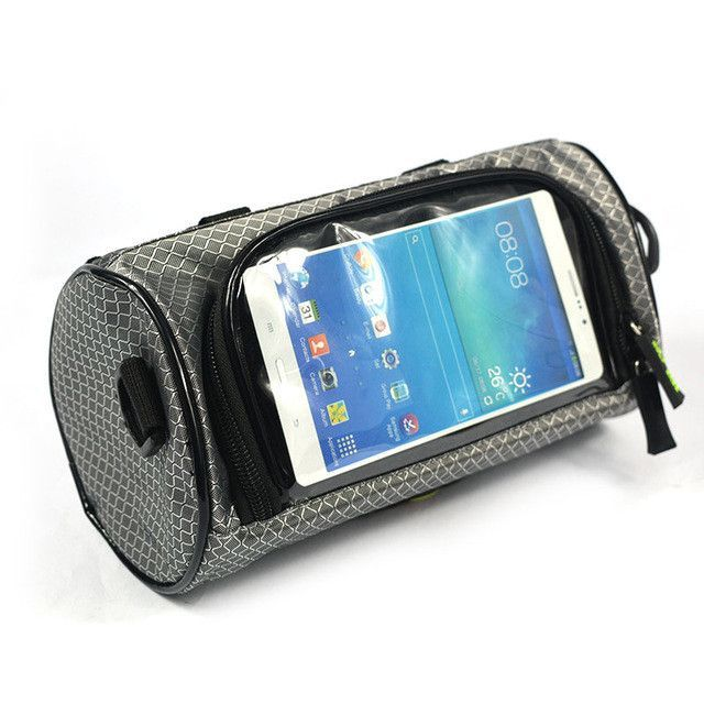 Waterproof Bicycle Pannier with Touch Screen & Pockets (7 colors)